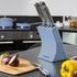 Morphy Richards 974812 5 Piece Knife Block - Cornflower Blue: Image 3