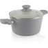 Tower T90922G Taper Ceramic Coated Casserole Dish - Grey - 24cm: Image 1