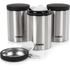 Tower T80103 Set of 3 Storage Canisters - Stainless Steel: Image 2