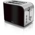 Swan ST17020BLKN 2 Slice Toaster - Black: Image 1