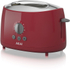 Akai A20001R 2 Slice Cool Touch Toaster - Red: Image 1