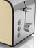 Swan ST17020CREN 2 Slice Toaster - Cream: Image 2