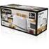 Elgento E20011 4 Slice Toaster - White: Image 5