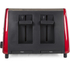 Breville VTT465 4 Slice Toaster - Red: Image 2