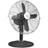 Swan SFA1010BN Retro Desk Fan - Black - 12 Inch: Image 1
