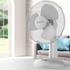 Signature S115N Desk Fan - White - 9 Inch: Image 3