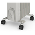 Warmlite WL43003Y Oil Filled Radiator - White - 1500W: Image 3