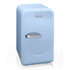 Swan SRE10010BLN Retro Mini Fridge - Blue: Image 1