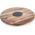 Natural Life NLAS001 Acacia Lazy Susan with Slate Plate - 35cm: Image 1