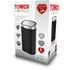 Tower T80900 Square Sensor Bin - Black - 58L: Image 6