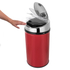 Morphy Richards 971496 Round Sensor Bin - Red - 30L: Image 2