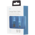 Kit USB to Micro USB Data & Charge Flat Cable - Metallic Blue: Image 2