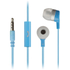 KitSound Entry Mini Earphones With In-Line Mic  - Blue: Image 1
