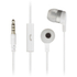 KitSound Entry Mini Earphones With In-Line Mic  - White: Image 1
