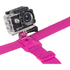 Kitvision Head Strap Mount for Action Cameras (GoPro, Kitvision: Edge H10, Splash, Esc 5 & Esc 5W) - Pink: Image 2