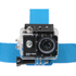 Kitvision Head Strap Mount for Action Cameras (GoPro, Kitvision: Edge H10, Splash, Esc 5 & Esc 5W) - Blue: Image 3