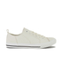 Crosshatch Men's Kashvault Suedette Trainers - White: Image 1
