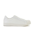 Crosshatch Men's Reptile Low Top Trainers - White: Image 1