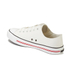 Crosshatch Men's New Halfpipe Canvas Trainers - White: Image 5