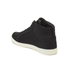 Crosshatch Men's Borneo High Top Trainers - Black: Image 5