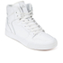 Supra Men's Vaider Leather High Top Trainers - White: Image 4