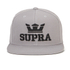 Supra Men's Above Logo Snapback - Silver/Black: Image 1