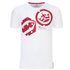 Crosshatch Men's Arowana Print T-Shirt - White: Image 1