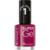 Rimmel Super Gel Nagellack Duo Kit (2 x 12ml) - Urban Purple: Image 1