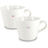 Keith Brymer Jones Mr and Mrs Bucket Mugs - Set of 2 - White: Image 1