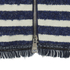 Sonia by Sonia Rykiel Women's Tweed Striped Skirt - Navy/Ecru: Image 3
