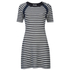 Sonia by Sonia Rykiel Women's Sailor Details Dress - White/Navy: Image 1