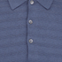 John Smedley Men's Runkel Sea Island Cotton Polo Shirt - Baltic Blue: Image 3