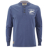 Tokyo Laundry Men's Arturo Button Long Sleeve Top - Cornflower Blue: Image 1