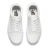 Vans Unisex Old Skool Canvas Trainers - True White: Image 2
