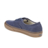 Vans Men's Authentic Washed Canvas Trainers - Dress Blues/Gum: Image 5