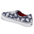 Vans Unisex Authentic Washed Kelp Trainers - Navy/White: Image 4