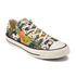 Converse Women's Chuck Taylor All Star Canvas Print OX Trainers - Inked/Egret/Black: Image 2