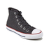 Converse Women's Chuck Taylor All Star Crochet Hi-Top Trainers - Almost Black/White: Image 2