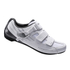Shimano RP300 SPD-SL Cycling Shoes Wide Fit - White: Image 1