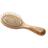 Hydrea London Olive Wood Handbag Size Anti Static Hair Brush: Image 1