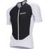 Nalini Xrace Logo Ti Short Sleeve Jersey - White/Black: Image 1