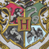 Harry Potter Hogwarts Crest Dames T-Shirt - Grijs: Image 5