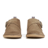 Selected Homme Men's Royce Suede Monk Shoes - Tan: Image 4