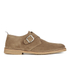 Selected Homme Men's Royce Suede Monk Shoes - Tan: Image 1