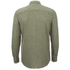 Selected Homme Men's None Trent Solid Long Sleeve Shirt - Olive Night Melange: Image 2