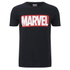 Marvel Comics Men's Core Logo T-Shirt - Black: Image 1