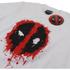 Marvel Men's Deadpool Paint Logo T-Shirt - White: Image 2