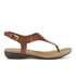 Lauren Ralph Lauren Women's Kally Leather Sandals - Polo Tan: Image 1