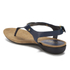 Lauren Ralph Lauren Women's Kally Leather Sandals - Modern Navy: Image 4