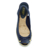 Lauren Ralph Lauren Women's Camille Canvas Wedged Espadrilles - Sailing Navy: Image 3